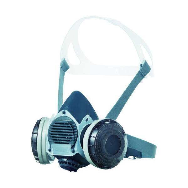 (株)重松製作所 シゲマツ 防塵マスク(伝声器付)U2Wフィルタ使用 DR-80U2W 1個