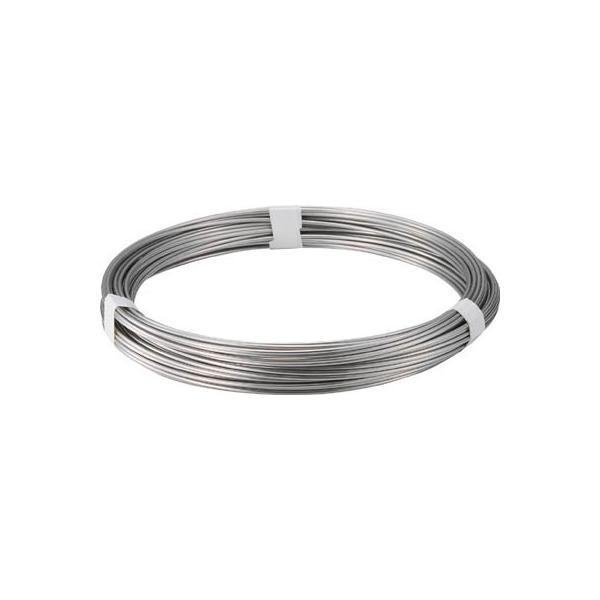 トラスコ中山(株) TRUSCO ステンレス針金 2.0mm 1kg TSW-20 1巻【282-5601】