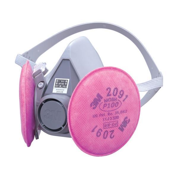 3M 取替式防じんマスク 6000/2091−RL3 Mサイズ 6000/2091-RL3M 1個【10bai3】【psc1】 ganbariya-shop