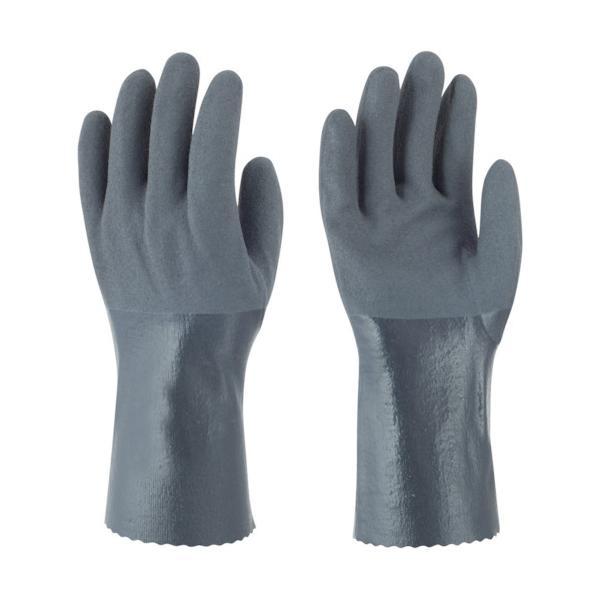 (株)東和コーポレーション トワロン ニトリルゴム手袋 耐油ニトリルパワーロング M 502-M 1双【404-0562】