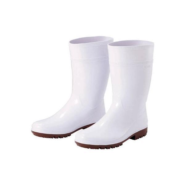 ミドリ安全(株) ミドリ安全 超耐滑長靴 ハイグリップ 24.5CM HG-2000N-W-24.5 1足
