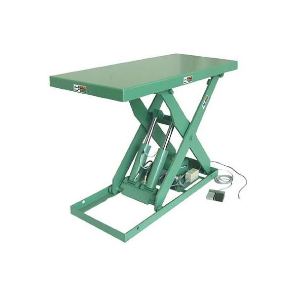 (株)河原 河原 標準リフトテーブル 0.75KW K-1012 1台【457-6616】【代引不可商品】【別途運賃必要なためご連絡いたします。】