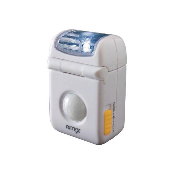 (株)ムサシ ライテックス LEDマイクロセンサーライト ASL-010 1台【474-7143】