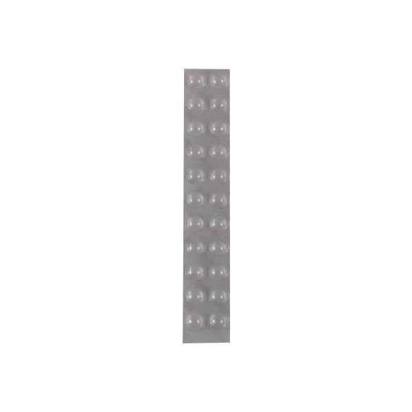 スリーエム ジャパン(株) 3M しっかりつくクッションゴム 丸形 7.9mm径×2.2mm厚(22個入) CS-01 1PK【787-4651】