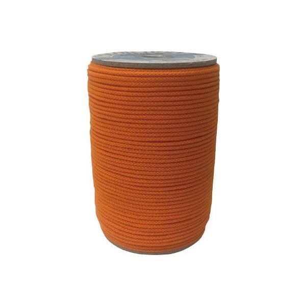 (株)ユタカメイク ユタカ アクリルカラーボビン巻 3mm×150m オレンジ PAC-403 1個【794-6881】