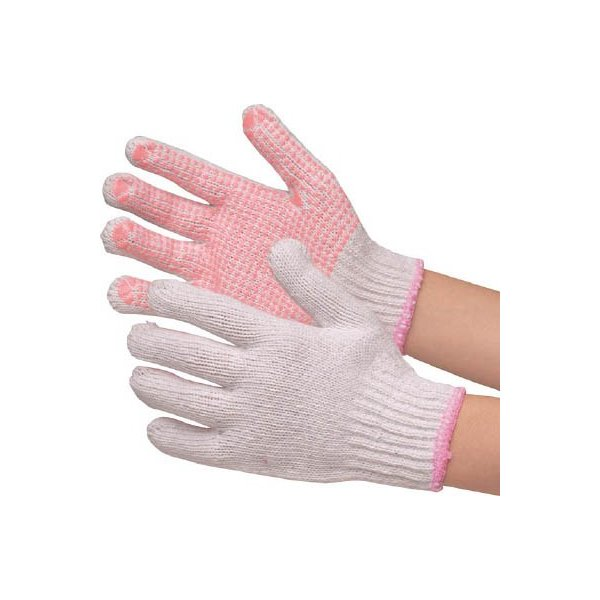 ミドリ安全(株) ミドリ安全 すべり止め手袋 女性用 12双入 MHG-401 1袋【819-2499】