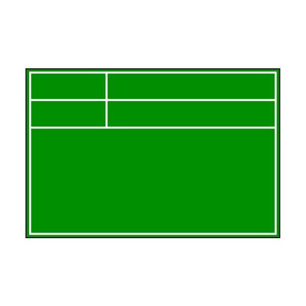 土牛産業(株) DOGYU ビューボードグリーンD−1G用プレート(枠のみ) 04114 1個【828-6436】 ganbariya-shop