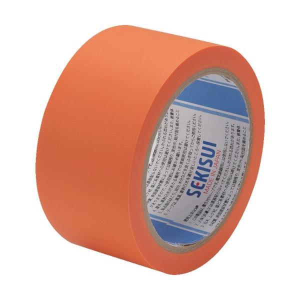 積水化学工業(株) 積水 養生テープ スマートカットテープFILM 50×25m オレンジ N833Q03 1巻|ganbariya-shop
