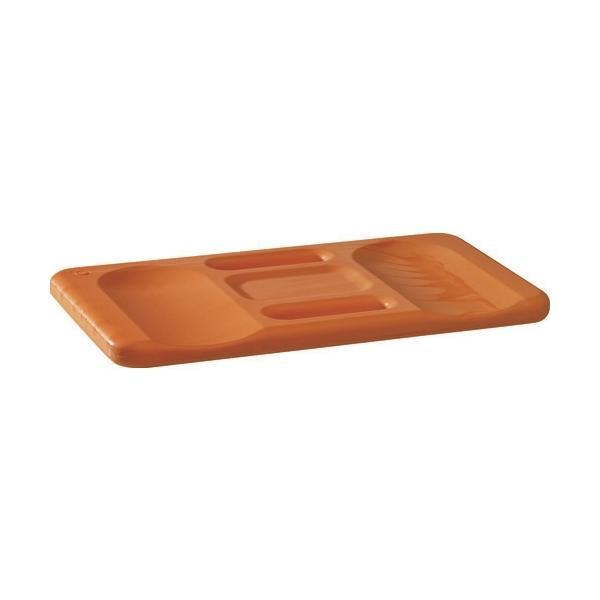 KRONEN HANSA社 K/H ひざマット Ergo Form オレンジ 240×440×30mm 367100 1個