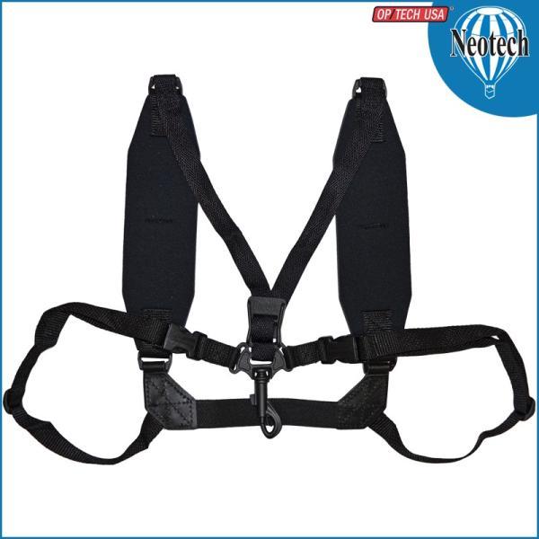 Neotech/ネオテック Soft Harness Regular Swivel (スナップフック) Black #2501162 ソフトハーネス レギュラースイベル ブラック