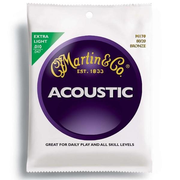 MARTIN/マーチン マーチン弦エクストラ・ライト M170×1セット/M-170|gandgmusichotline