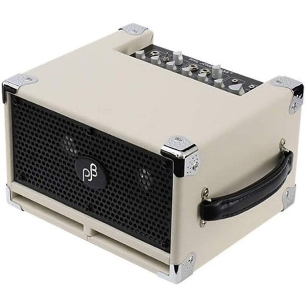 ベースアンプBassCubProWhite-白-最大パワー240W外部スピーカー出力BassCub最上位機種PJBAMP