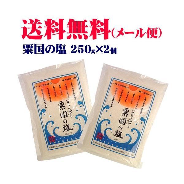 粟国の塩(中)250g×2個 (メール便)