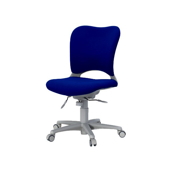 Garage腰痛防止の事務椅子 ハイバック パソコンチェア 青 ガラージ チェア 腰痛軽減椅子 オフィスチェア送料無料Uキャスター OC-Z03SLU|garage-murabi|03