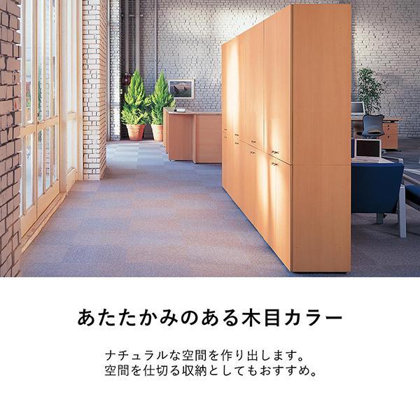 収納庫(本棚) 扉 下用 GX-080TD ファントーニ Garage fantoni 濃木目|garage-murabi|03