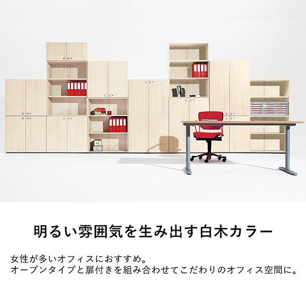 収納庫(本棚) 扉 下用 GX-080TD ファントーニ Garage fantoni 濃木目|garage-murabi|04