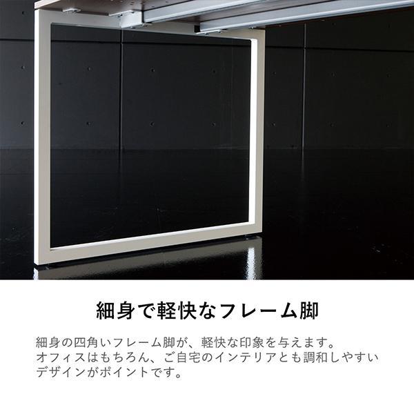 Garage fantoni GXデスク W1600×D700×H620-820mm 高さ調節脚 高級 エグゼクティブデスク GX-167HJ 濃木目 (イタリア製)|garage-murabi|03