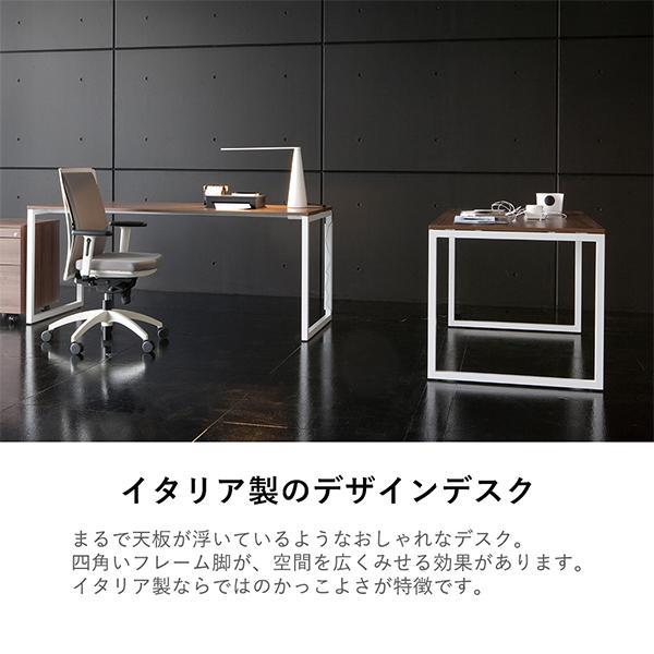 オフィス家具 Garage fantoni GXデスク W1600×D700×H720mm 高級 エグゼクティブデスク GX-167H 白 (イタリー製)|garage-murabi|02