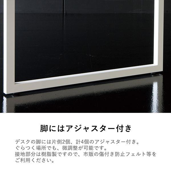 Garage fantoni GXデスク GX-147HJ 白 414489 W1400×D700×H620-820mm 高さ調節脚 オフィス家具 高級 エグゼクティブデスク (イタリア製)|garage-murabi|04