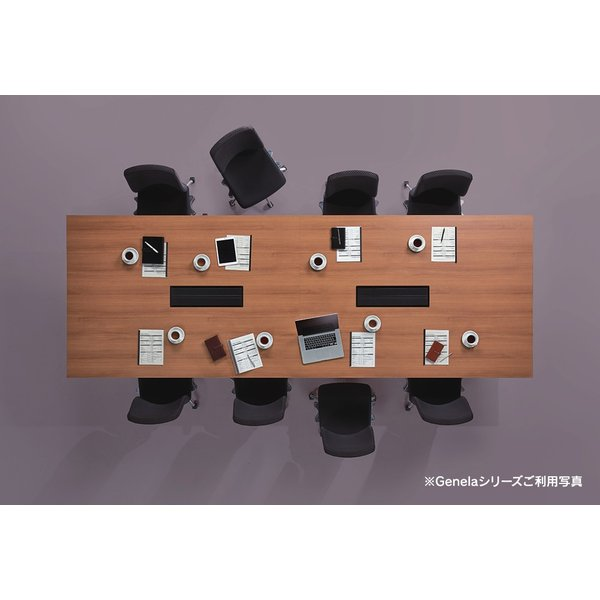 組立・設置迄 Genelaシリーズ カンファレンステーブル W3200×D1200×H720mm PLUS GE-3212C J664467|garage-murabi|05