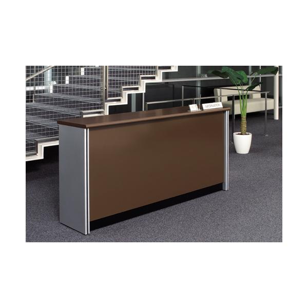好評 施工設置・後払い決済も 事務所受付カウンター オフィス  業務用 ハイカウンター 1800mm ダークブラウン PJ-HC18 PJ-HC18NDB 382508|garage-murabi|05