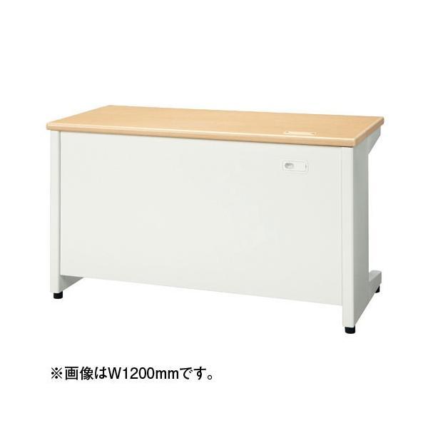 平机 天板メープル 組立設置付 RJデスクII プラス W1000*700 事務机 RJ-107H WM|garage-murabi|02