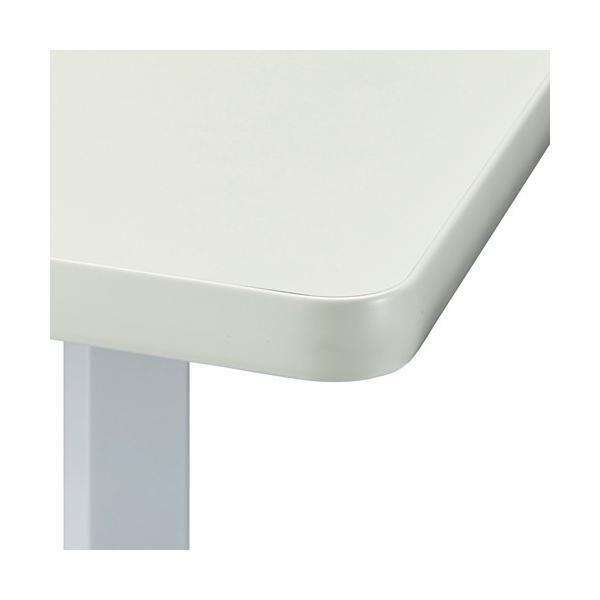 ハイテーブル KHH-0909-WH ホワイト リフレッシュテーブル 900×900 H1000 送料無料|garage-murabi|03