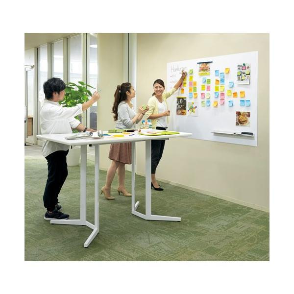 ハイテーブル KHH-0909-WH ホワイト リフレッシュテーブル 900×900 H1000 送料無料|garage-murabi|04