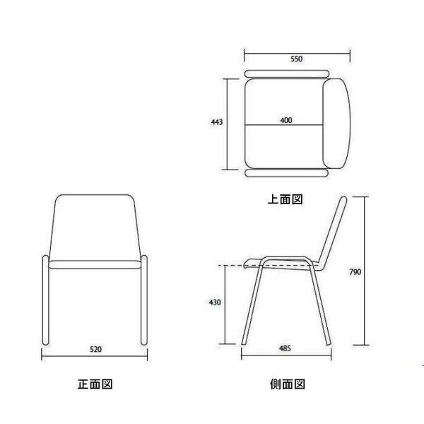 ダイニングチェア  会議椅子にも実績と価格|garage-murabi|05