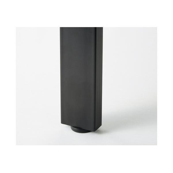 PLUS増連型ミーティングテーブル W1200×D1200mm ホワイト 配線ボックス有 MR-1212SQH WH/BK フリーアドレス ワイドテーブル|garage-murabi|02
