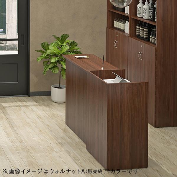 上質の材質・表面強度で、受付カウンター オフィス  デザイン ハイカウンター W1200×D450×H1000 おしゃれ  クリニック  エステ RFHC-1200|garage-murabi|05
