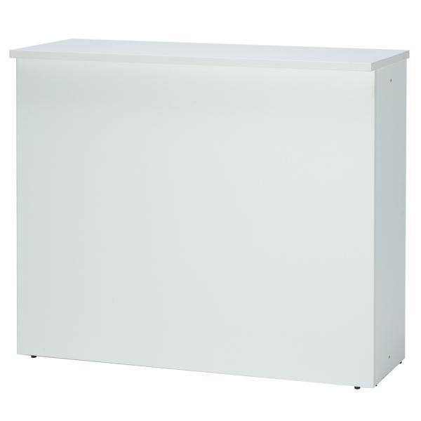 ムラビ・オリジナル 受付カウンター デスク【ホワイト】RFHC-1200とインナーデスクのセット 3color 時間を大切に、執務タイプ 仕事ができる人気セット|garage-murabi|04