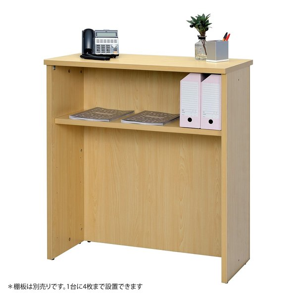 【ナチュラル】受付カウンター ハイカウンター W900×D450×H1000mm おしゃれ オフィス クリニック 店舗 RFHC-900NJ|garage-murabi|03