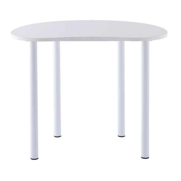 ビーンズ型 ハイテーブル RFHMT-BN1280WJ リフレッシュテーブル 送料無料 J869317|garage-murabi|02