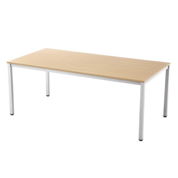 ミーティングテーブル W1800×D900 [ホワイト/ナチュラル/ダーク] RFMT-1890 会議用テーブル 会議机 会議室 デスク 打ち合わせ 商談用 garage-murabi 02