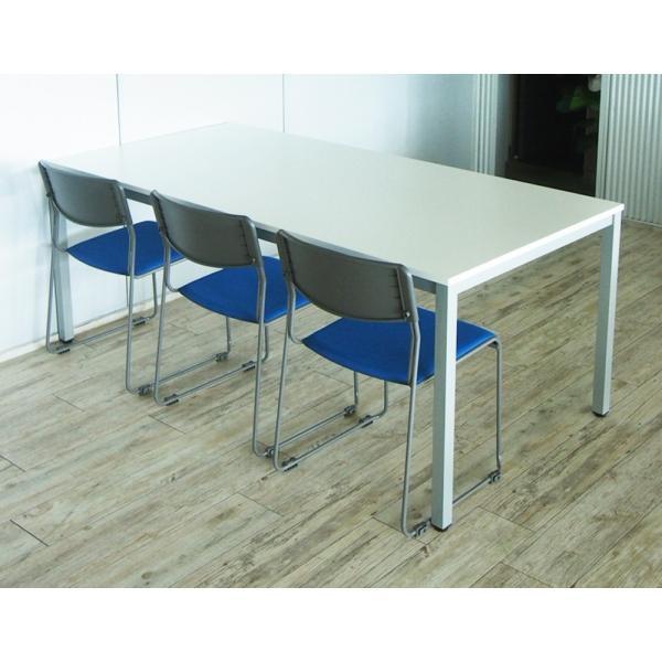 ミーティングテーブル W1800×D900 [ホワイト/ナチュラル/ダーク] RFMT-1890 会議用テーブル 会議机 会議室 デスク 打ち合わせ 商談用 garage-murabi 04