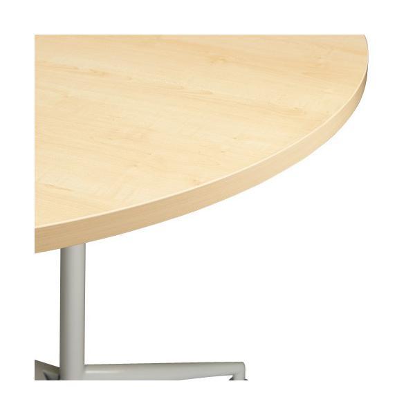 OA 円形テーブル・丸テーブル (木目)1200mm 送料無料 RFRDT-OA1200NL J851410|garage-murabi|02