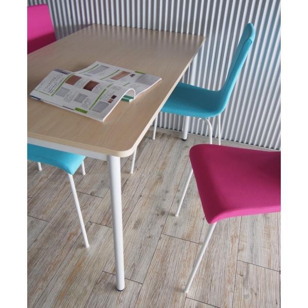 ラディーシリーズ RFシンプルテーブル W1200×D400 [ホワイト/ナチュラル/ダーク] RFSPT-1240 オフィスデスク 事務机 会議テーブル ミーティングテーブル|garage-murabi|04