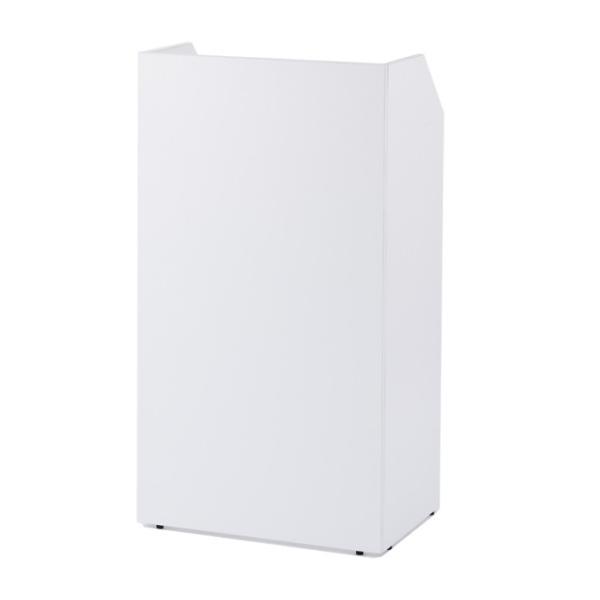 演説台  教壇、教卓にも   ホワイト 2色  W600×H1100 SHEN-WH J869315 garage-murabi 02