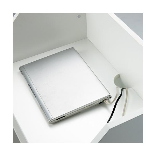 演説台  教壇、教卓にも   ホワイト 2色  W600×H1100 SHEN-WH J869315 garage-murabi 04