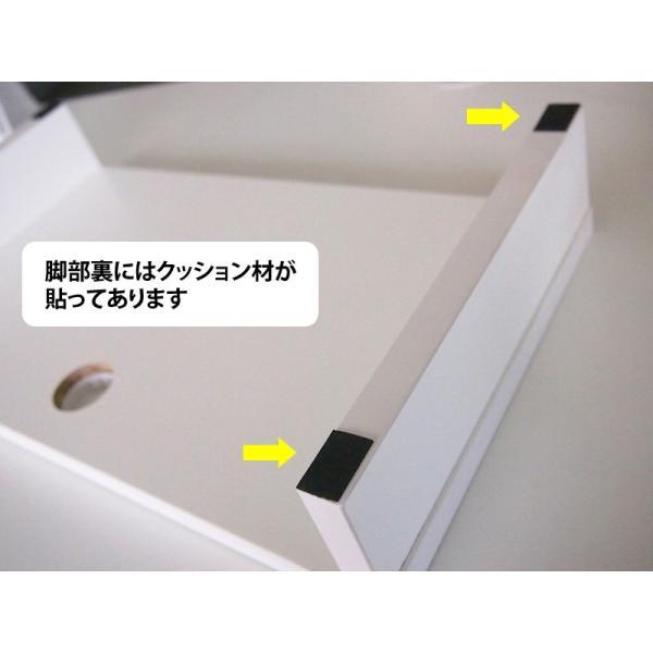 机上PCラックSH W450 ホワイト SHPC-45W 机上整理 パソコン台 机上台 ラック 机上ラック パソコン置き PCラック|garage-murabi|02
