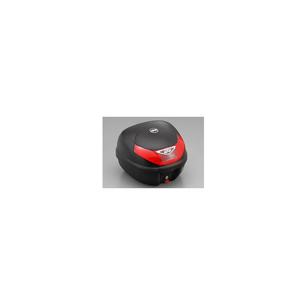 GIVI(ジビ) E30TN  テールボックス 30リッター  無塗装ブラック 68412 リアボックス トップケース モノロックケース