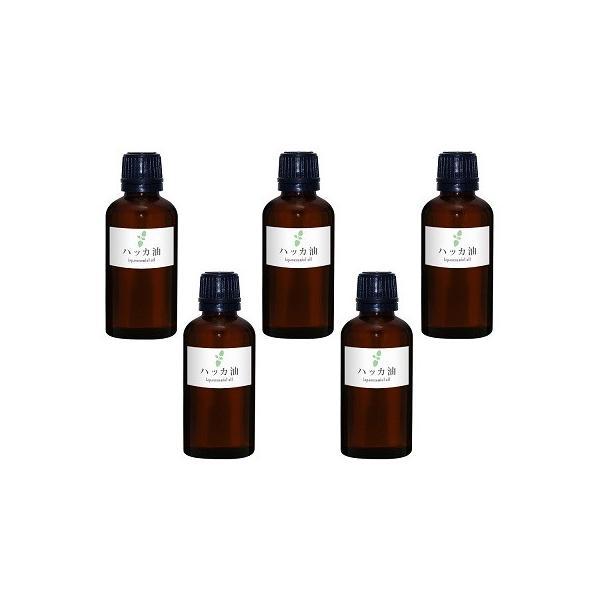 ()ガレージ・ゼロハッカ油50ml5個ガラス瓶和種薄荷/ジャパニーズミント