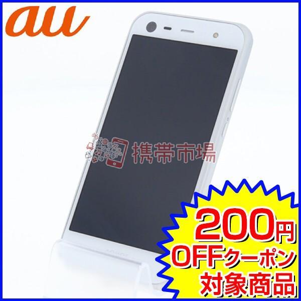 AQUOS PHONE 16GB ホワイト auの画像