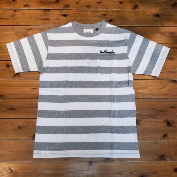 マークゴンザレス Mark Gonzales ボーダーポケットTシャツ 半袖|garakuta-ga|02