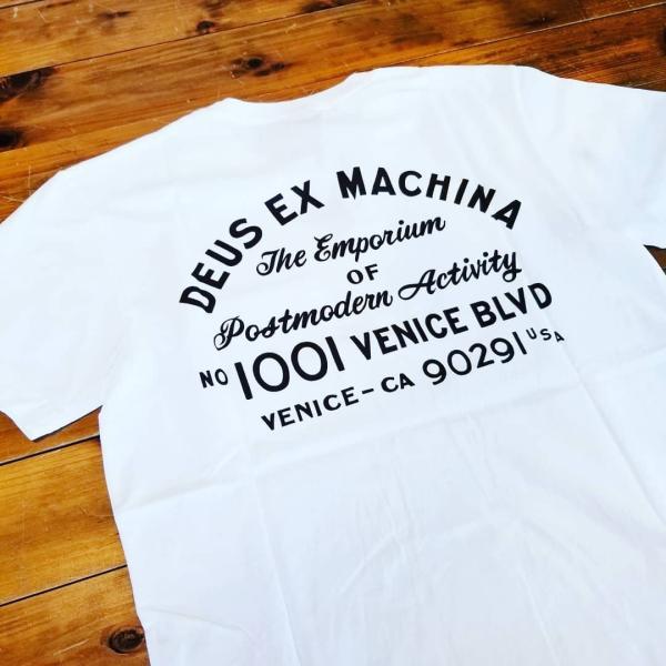DEUS EX MACHINA デウスエクスマキナ  VENICE ADDRESS Tee アドレスTシャツ 半袖 メンズ|garakuta-ga|04