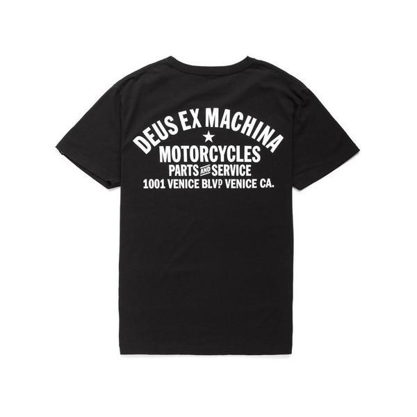 DEUS EX MACHINA デウスエクスマキナ  VENICE ADDRESS Tee アドレスTシャツ 半袖 メンズ|garakuta-ga|03