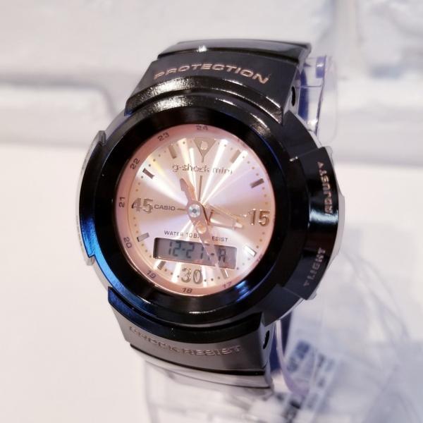 g-shock mini 腕時計 GMN-500-1B3JR ジーショック ミニ Gショック G-ショック カシオ CASIO ブラック×ピンクゴールド garakuta-ga