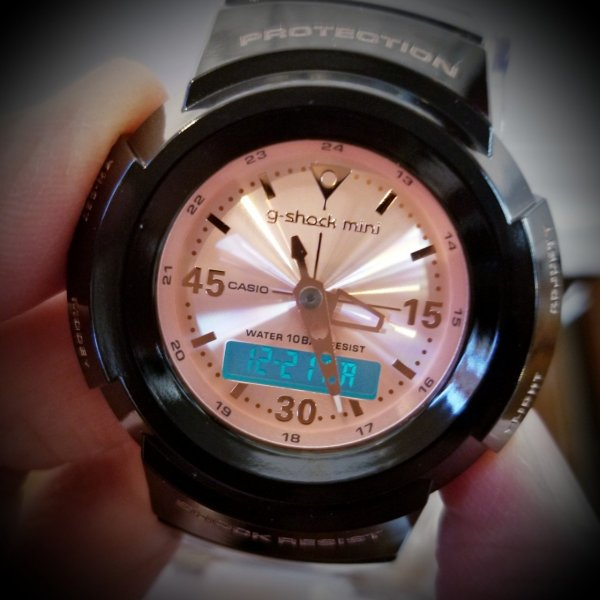 g-shock mini 腕時計 GMN-500-1B3JR ジーショック ミニ Gショック G-ショック カシオ CASIO ブラック×ピンクゴールド garakuta-ga 05