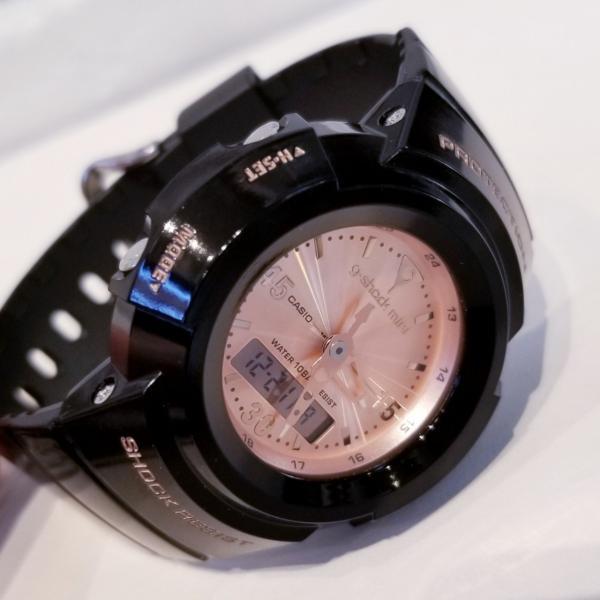 g-shock mini 腕時計 GMN-500-1B3JR ジーショック ミニ Gショック G-ショック カシオ CASIO ブラック×ピンクゴールド garakuta-ga 06